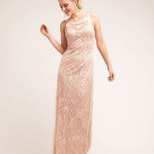 Patterned Long Evening Prom Dress CD1925